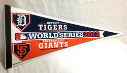 2012 World Series Duel Pennant San Francisco Giants Detroit Tigers (1B) FREESHP