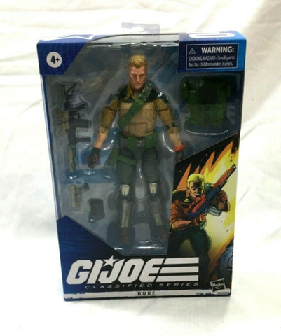 2020 Hasbro GI Joe Classified Series Duke #4 Figure New Boxed FREESHIP