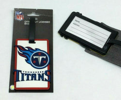 NFL Tennessee Titans Luggage Tag Travel Bag ID Golf Tag FREESHIP