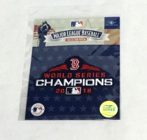 Boston Red Sox 2018 World Series Champions Jersey Patch Real Official FREESHIP