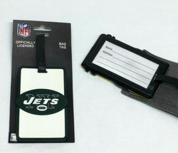 NFL New York Jets Luggage Tag Travel Bag ID Golf Tag FREESHIP