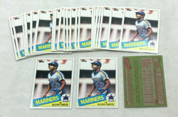 1985 Topps #145 Seattle Mariners Alvin Davis Rookie Rc Card 28 Piece Lot FREESH
