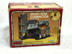 1982 Vintage Star Wars ESB Micro Collection Death Star Compactor Boxed Complete