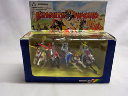 Britains Deetail Knights of the Sword #7744 Mounted Silver Knights Boxed FREESHP