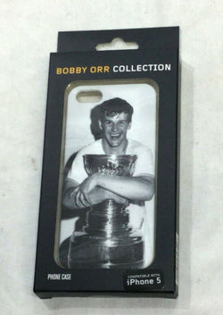NEW Boston Bruins Bobby Orr Collection Stanley Cup Champions Photo iPhone Case