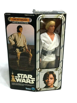 1978 Vintage Star Wars Luke Skywalker 12 Inch Figure Doll Boxed Complete FREESHP