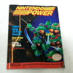 May / June 1989 Nintendo Power Magazine Book TMNT Ninja Turtles Complete Poster