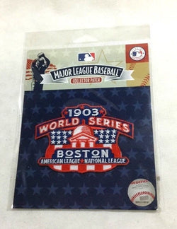 MLB Official Boston Red Sox 1903 World Series Champions Jersey Patch FREESHIP