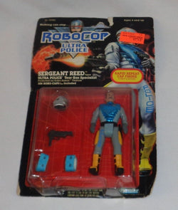 Kenner 1989 Robocop and the Ultra Police Sergeant Reed Figure MOC Carded FREESP