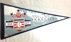 2007 Baseball Hall Of Fame Tony Gwynn & Cal Ripken Jr Induction Pennant