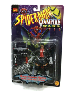 1996 Toybiz Marvel Comics Spiderman Vampire Wars Blade Figure MOC Sealed Carded