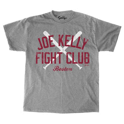 Boston Red Sox vs Yankees Rivalry Joe Kelly Fight Club T Shirt Size Large FREESP