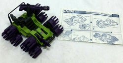 1988 Vintage GI Joe ARAH Swampsmasher Complete Instructions Blueprints FREESHIP