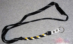NHL Boston Bruins Skate Lace Lanyard Necklace Keychain Swannys Break Away FREESP