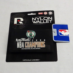 Boston Celtics 2008 NBA Finals Champions Nylon Tri Fold Wallet FREESHIP