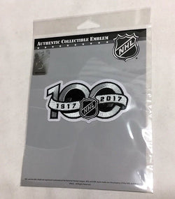 2017 NHL National Hockey League 100th Anniversary Centennial Jersey Patch FREESP
