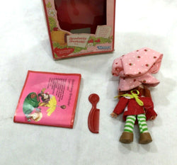 1980 Vintage Kenner Strawberry Shortcake Doll & Comb Booklet Complete Boxed