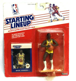 1988 SLU Starting Lineup Los Angeles Lakers Magic Johnson Figure MOC Sealed