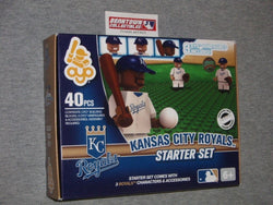 MLB Series 2 OYO Kansas City Royals Starter Set Infield 3 Figure Lot Field