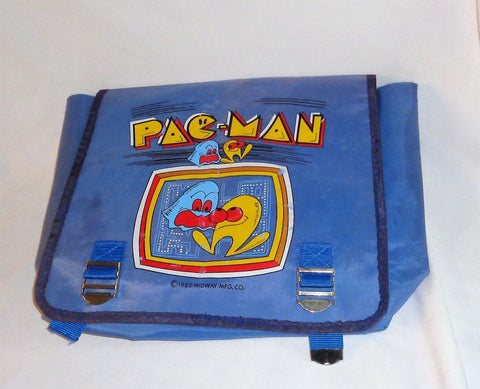 RARE Vintage 1982 PacMan Backpack School Bag Childrens Arcade Series FREESHIP