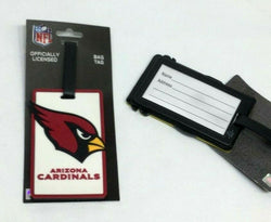 NFL Arizona Cardinals Luggage Tag Travel Bag ID Golf Tag FREESHP