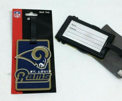 NFL St Louis Rams Defunct Los Angeles Luggage Tag Travel Bag ID Golf Tag FREESHP