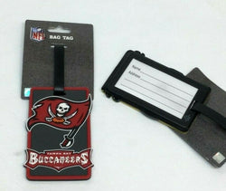 NFL Tampa Bay Buccaneers Luggage Tag Travel Bag ID Golf Tag FREESHP