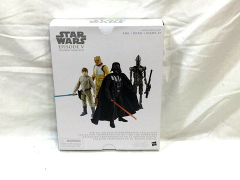 Star Wars Digital Release Commemorative Collection Figure 4 Pack Empire Strikes