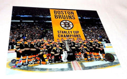 Boston Bruins 2011 Stanley Cup Champions Raising Banner Nite 16x20 Picture Photo