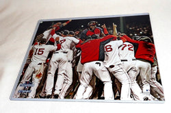 Boston Red Sox 2013 World Series Champions Fenway Park Pile Picture Photo 16x20