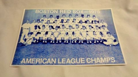 1975 Boston Red Sox AL Champions World Series Team Poster Picture 11x17 FREESHIP