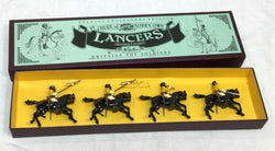 Britains Duke of York's Own Lancers Metal Model Diecast Boxed Set #8834 Soldiers