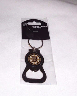 NHL Boston Bruins Classic Bottle Opener Keychain Chrome Color FREESHIP
