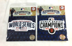 2014 World Series & World Champions Jersey Patch San Francisco Giants Lot of 2