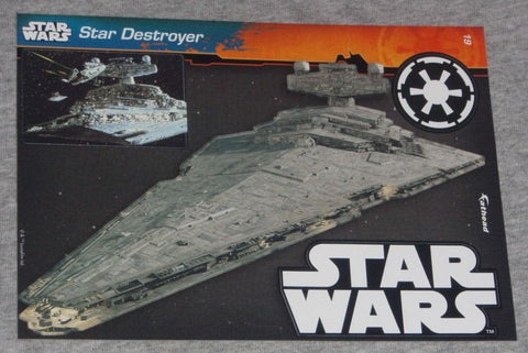 Star Wars ESB Star Destroyer #19 Fathead 5x7 Vinyl Decal Wall Graphic FREESHIP