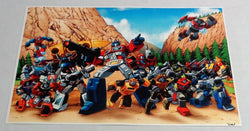 G1 Transformers Autobots Team Poster 1st Season TV 11x17 Ark Background FREESHIP