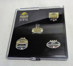 New York Yankees Final Season Yankee Stadium 2008 Allstar Game 5 Pin Set FREESHP