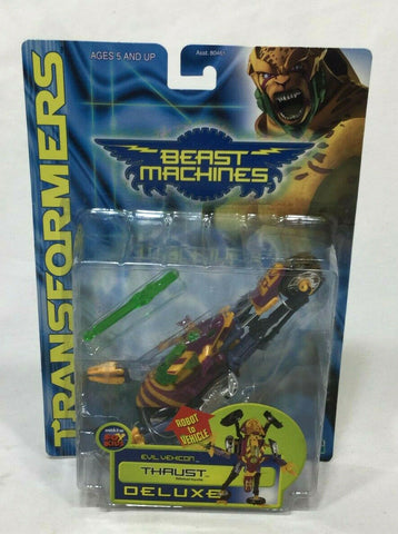 NEW Transformers Beast Machines Thrust Deluxe Class MIB Sealed Carded FREESHIP