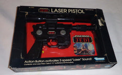 Boxed 1983 Star Wars ROTJ Return of the Jedi Han Solo Laser Pistol Blaster