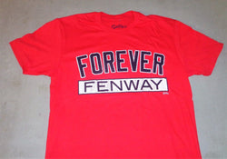 Boston Fenway Park Fovever Fenway Stressed Look T Shirt Size Small Red Sox