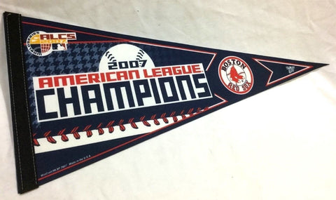 2007 American League Champions Pennant Boston Red Sox World Series (B1) FREESHIP