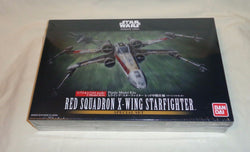 NEW Bandai Star Wars Rogue X Wing Red Squadron 2 Piece Plastic Model Kit Box Set