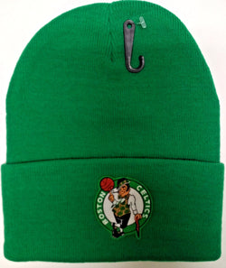 5ba0b17154dda NBA Boston Celtics Winter Knit Cap Hat Beanie Green Cuffed (C) FREESHIP