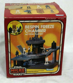 1982 Star Wars ESB Micro Collection Bespin Freese Chamber Boxed Complete Catalog