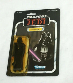 1983 Star Wars Return of Jedi ROTJ Darth Vader Figure Carded Sealed MOC 65 Back