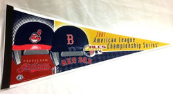 2007 ALCS League Championship Series Pennant Boston Red Sox Cleveland Indians