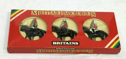 Britains Metal Models Queen's British Mounted Lifeguards Diecast Boxed Set #7233