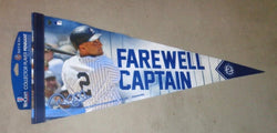 2014 New York Yankees Derek Jeter Final Season Retirement Pennant 12x30 Wool