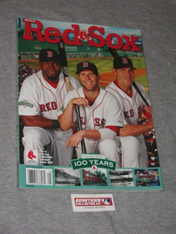 2012 Boston Red Sox Yearbook Fenway Park 100th Anniversary Ortiz Pedroai FREESP