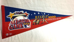2000 MLB Baseball Allstar Game Pennant Atlanta Braves Turner Field (B1) FREESHIP